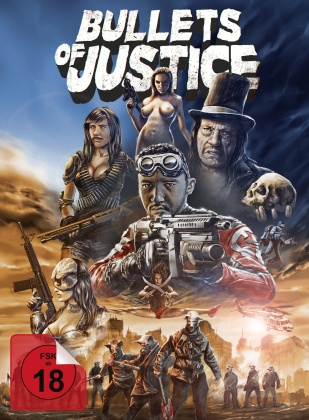 Bullets of Justice (2019) (Limited Collector's Edition, Mediabook, Uncut, Blu-ray + DVD)