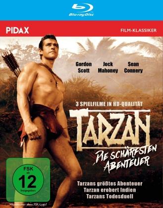 Tarzan - Die schärfsten Abenteuer - Tarzans grösstes Abenteuer / Tarzan erobert Indien / Tarzans Todesduell (Pidax Film-Klassiker)