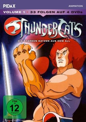 Thundercats - Die starken Katzen aus dem All - Vol. 1 (Pidax Animation, 4 DVDs)