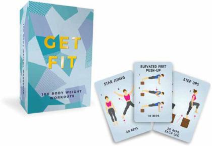 Get Fit Karten Fitnessübungen