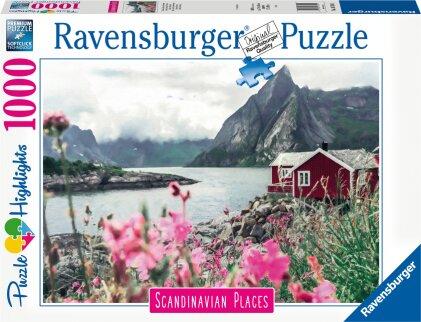 Ravensburger Puzzle Scandinavian Places 16740 - Reine, Lofoten, Norwegen - 1000 Teile Puzzle für Erwachsene und Kinder ab 14 Jahren