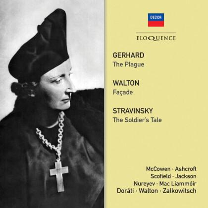 Dorati, Walton, Gerhard & Stravinsky - Gerhard: The Plague / Walton: Facade / Stravinsky