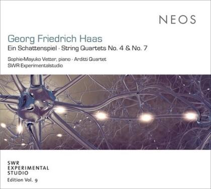 Georg Friedrich Haas (*1953) - Ein Schattenspiel String Quartets 4 & 7