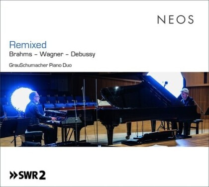 Grau Schumacher Piano Duo, Johannes Brahms (1833-1897), Richard Wagner (1813-1883) & Claude Debussy (1862-1918) - Remixed