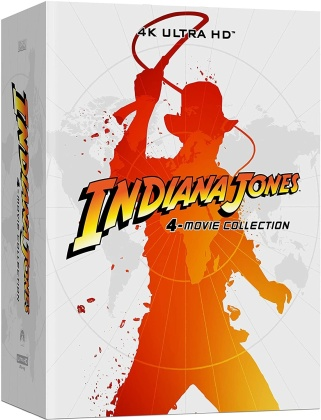 Indiana Jones - L'intégrale des 4 films (Limited Edition, Steelbook, 4 4K Ultra HDs + 5 Blu-rays)