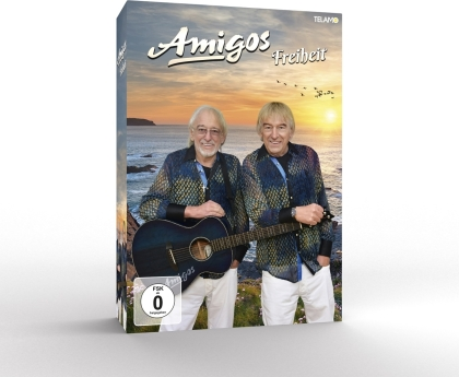 Amigos - Freiheit (Limitierte Fanbox, CD + DVD)
