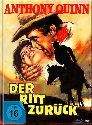 Der Ritt zurück (1957) (Mediabook, Blu-ray + DVD)