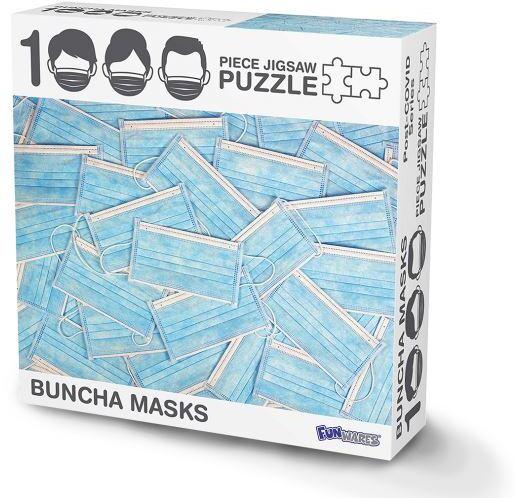 Schutzmasken-Puzzle 1000 teilig