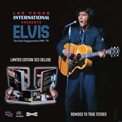 Elvis Presley - Las Vegas International Presents Elvis - The First Engagements 1969-70 (Deluxe 3CD Digi Book)