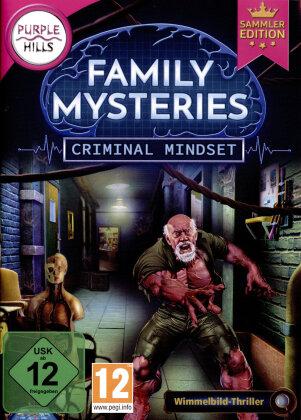 Family Mysteries 3 - Criminal Mindset