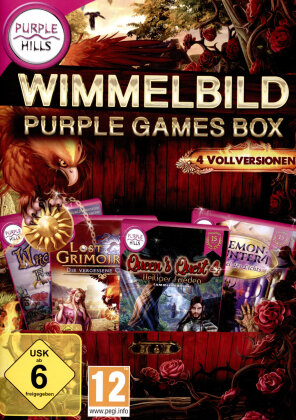 Wimmelbild Purple Games Box
