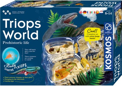Triops World, d/f/i - Zuchtset für prähistorische