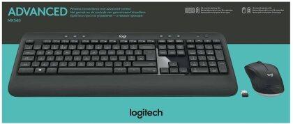 LOGITECH MK540 ADVANCED Wireless Keyboard and Mouse Combo - Swiss Layout