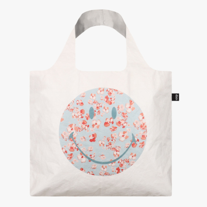 LOQI Bag, SMILEY TYVEK - Blossom