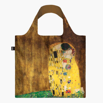 LOQI Bag, GUSTAV KLIMT, The Kiss - Recycled