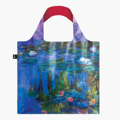 LOQI Bag, CLAUDE MONET, Water Lilies - Recycled