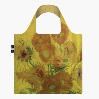 LOQI Bag, VINCENT VAN GOGH, Sunflowers - Recycled