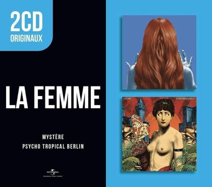 La Femme (France) - 2 CD Originaux: Mystere & Psycho Tropical Berlin (2 CDs)