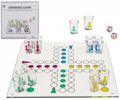 Ludo Trinkspiel - Trinkspiel aus Glas