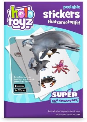 HoloToyz - Stickers - Super Sea Creatures