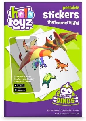 HoloToyz - Stickers - Jurassic Dinos