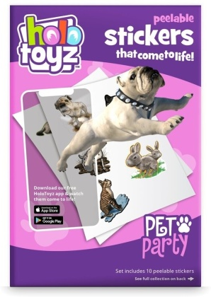 HoloToyz - Stickers - Pet Party