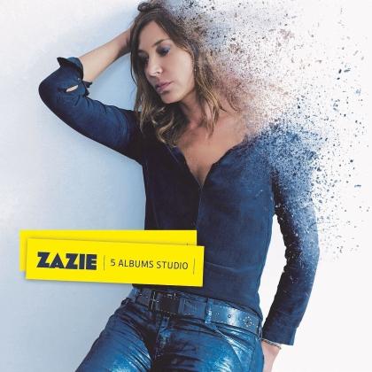 Zazie - 5 Albums Studio (5 CDs)