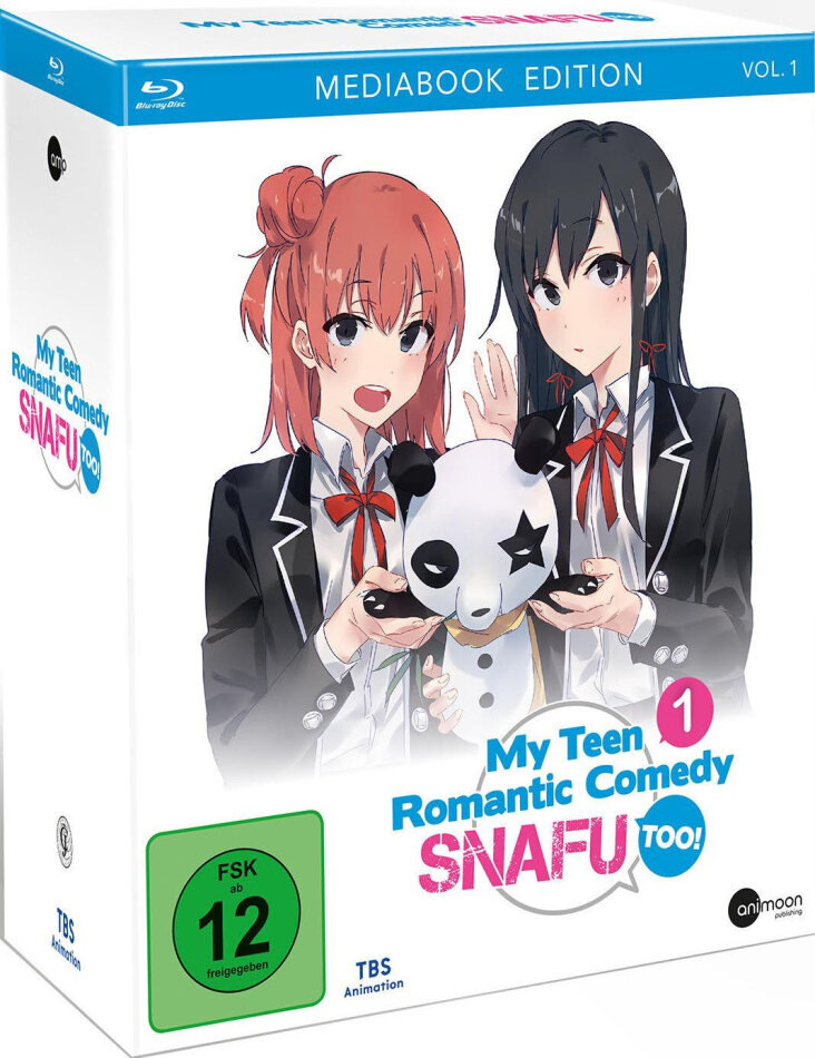 My Teen Romantic Comedy SNAFU too! - Staffel 2 - Vol. 1 (Edizione Limitata, Mediabook)