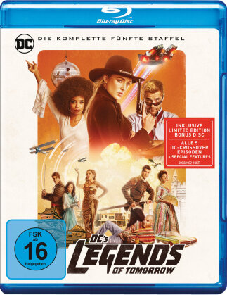 DC's Legends of Tomorrow - Staffel 5 (4 Blu-rays)