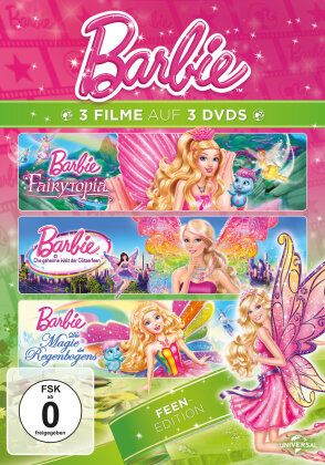 Barbie (Feen Edition, 3 DVDs)