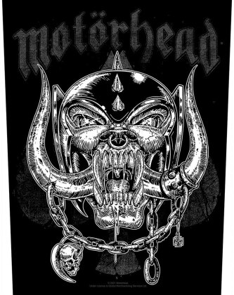 Motorhead - Etched Iron Backpatch