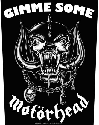 Motorhead - Gimme Some Backpatch