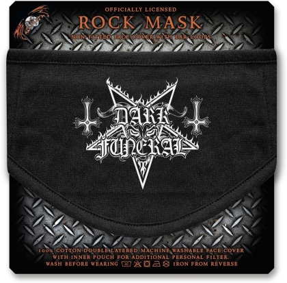 Dark Funeral - Logo Face Mask