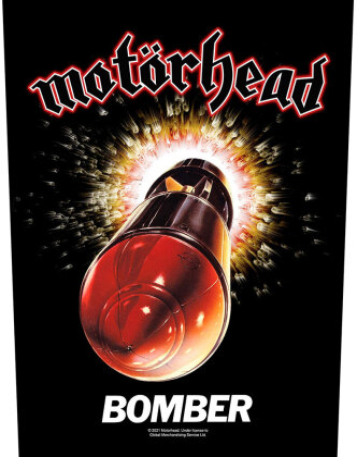 Motorhead - Bomber Backpatch