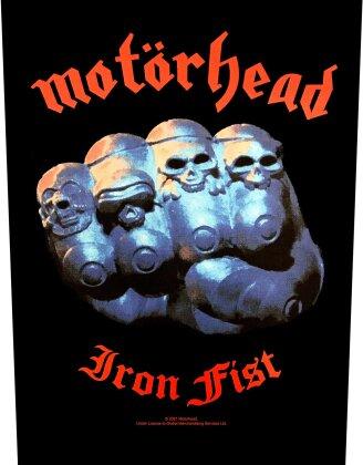 Motorhead - Iron Fist Backpatch