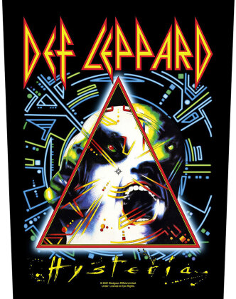 Def Leppard - Hysteria Backpatch