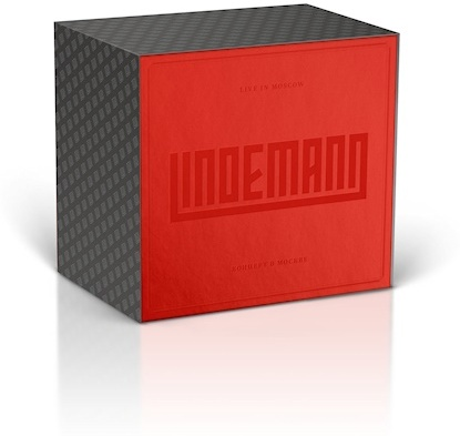 Lindemann (Till Lindemann/Peter Tägtgren) - Live In Moscow (Boxset, Deluxe Edition, CD + Blu-ray)
