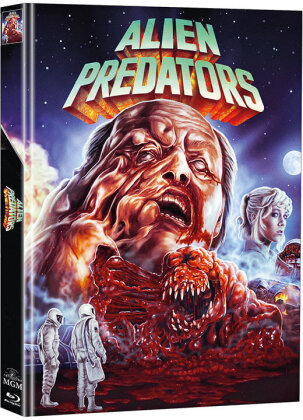 Alien Predators (1986) (Cover A, Super Spooky Stories, Limited Edition, Mediabook, Blu-ray + DVD)