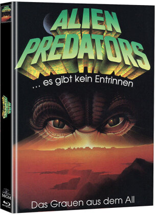 Alien Predators (1986) (Cover B, Super Spooky Stories, Limited Edition, Mediabook, Blu-ray + DVD)