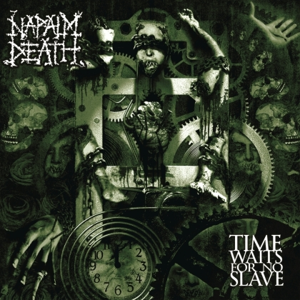 Napalm Death - Time Waits For No Slave (2021 Reissue, Century Media, LP)