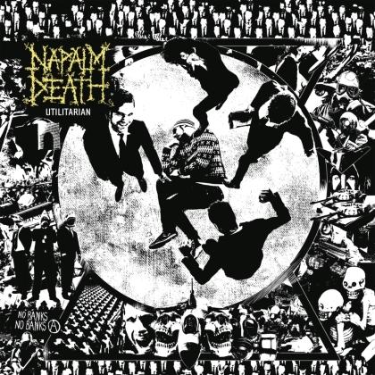 Napalm Death - Utilitarian (2021 Reissue, Century Media, LP)