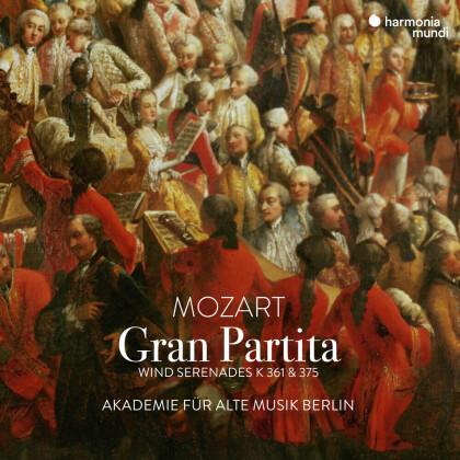 Akademie für Alte Musik Berlin & Wolfgang Amadeus Mozart (1756-1791) - Gran Partita - Wind Serenades K 361 & 375