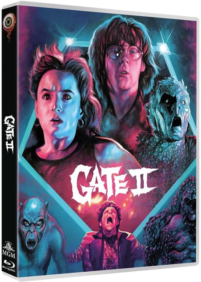 Gate 2 (1990) (Dual Disc, Limited Edition, Blu-ray + DVD)