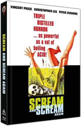 Scream and scream again - Die lebenden Leichen des Dr. Mabuse (1970) (Cover A, Limited Collector's Edition, Mediabook, Blu-ray + DVD)