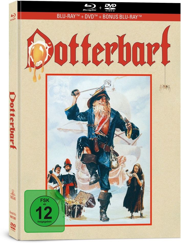 Dotterbart (1983) (Limited Collector's Edition, Mediabook, 2 Blu-rays + DVD)