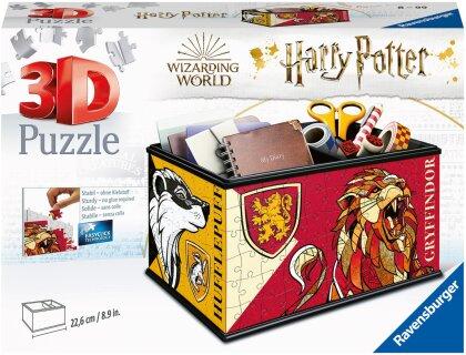 Ravensburger 3D Puzzle 11258 - Aufbewahrungsbox Harry Potter - 216 Teile - Praktischer Organizer für Harry Potter Fans ab 8 Jahren