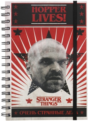 Stranger Things (Hopper Lives) A5 Wiro Notebook