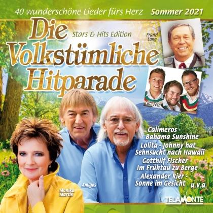 Die Volkstümliche Hitparade Sommer 2021 (2 CDs)