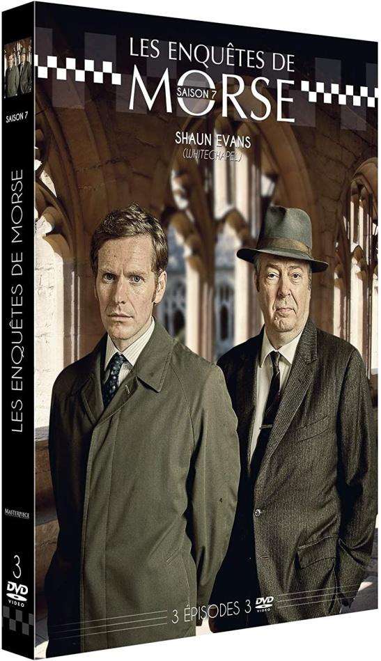 Les enquêtes de Morse - Saison 7 (3 DVDs)