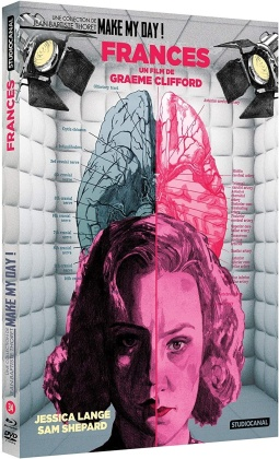 Frances (1982) (Make My Day! Collection, Schuber, Digibook, Blu-ray + DVD)